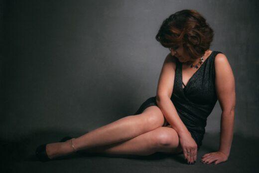 Potret kobiecy w studio